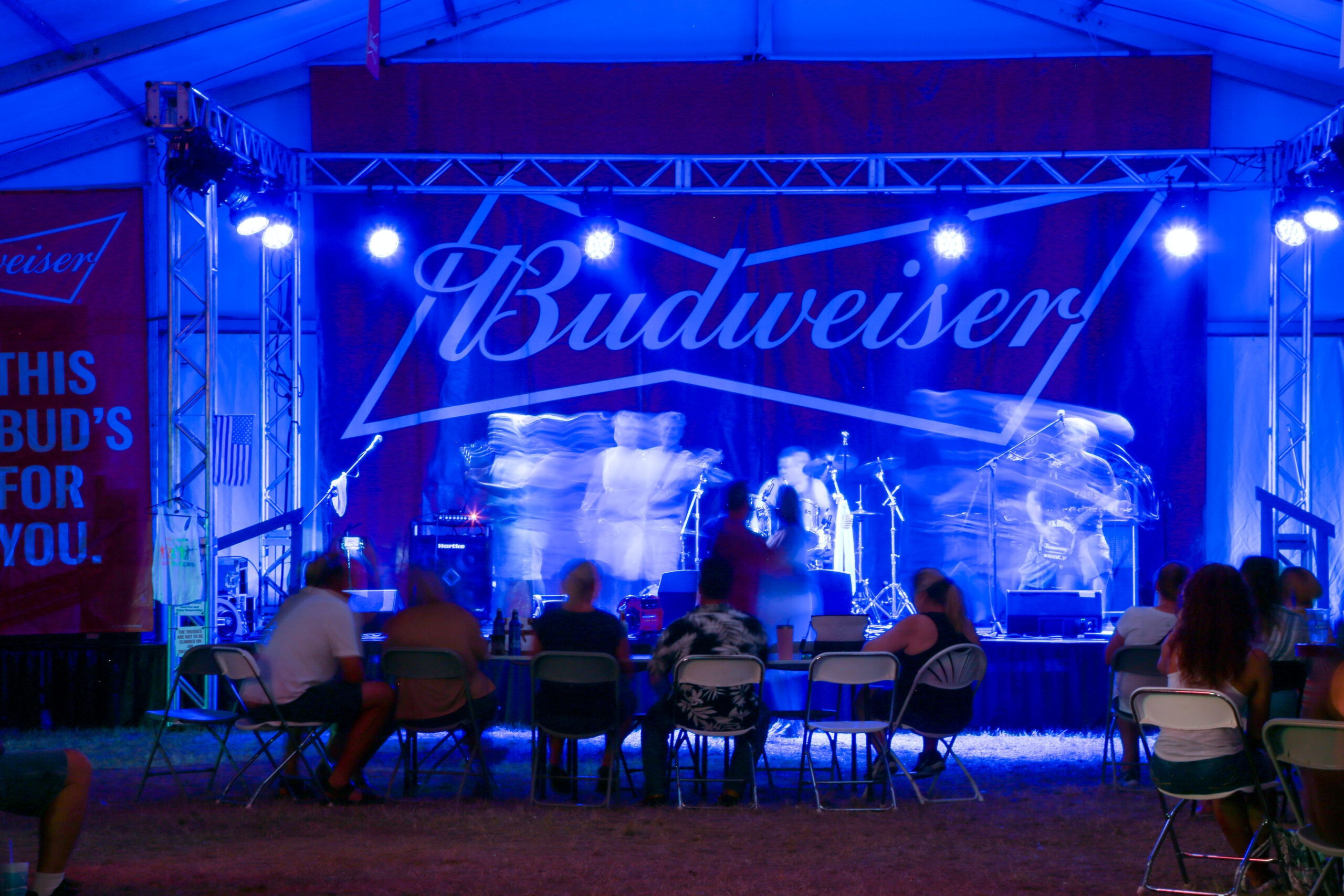 Image of Budweiser Tent